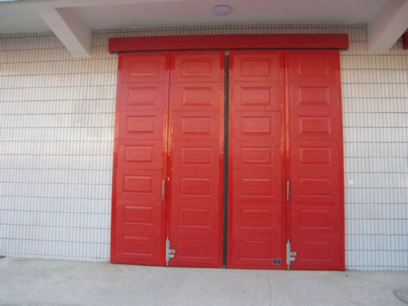工业折叠门.